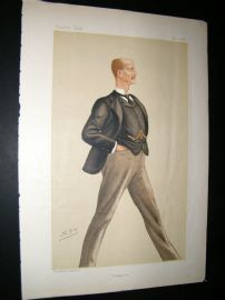 Vanity Fair Print 1886 Arthur William Hill